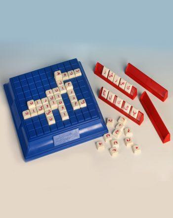 بازی فکری چینه حروف و اعداد