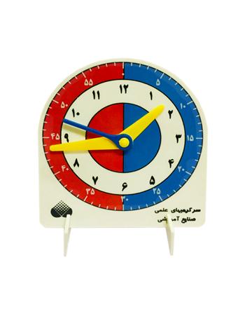 ساعت آموزشی پلاستیکی ثانیهدار