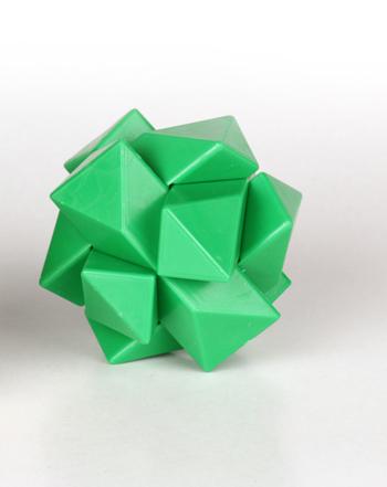 معمای ستاره رنگ سبز