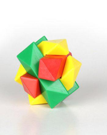 معمای ستاره سه رنگ (سبز،زرد،قرمز)