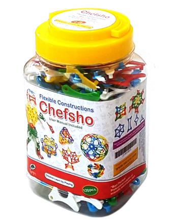 بازی چفشو chefsho مدل ۱۲۰قطعه