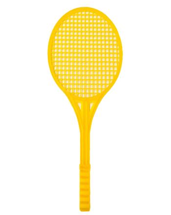 راکت پلاستیکی زرد رنگ