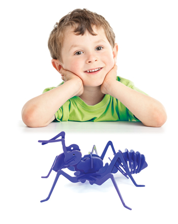 بازی فکری جورچین سهبعدی مورچه (سرمهای)