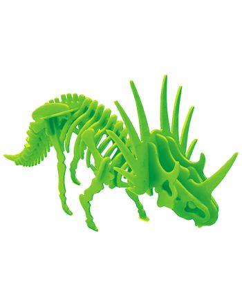 بازی فکری جورچین سهبعدی دایناسور (Styracosaurus)