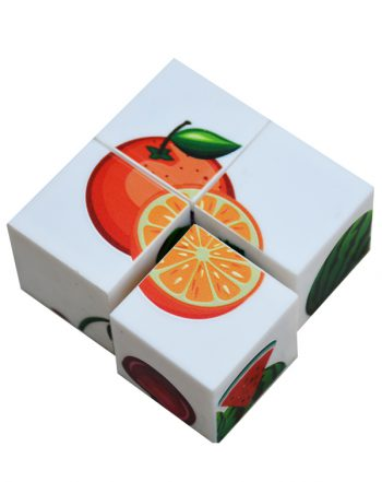 بازی فکری جورچین مکعبی میوهها