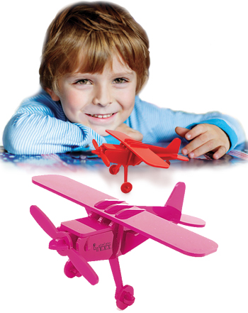 بازی فکری جورچین سهبعدی هواپیما کد۳۷۳