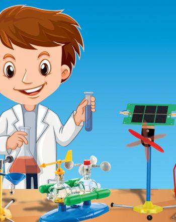 آزمایش در خانه علوم ابتدایی
